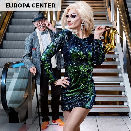 Europa Center – Mothership of Malls